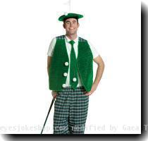 Costume The Silly Golfer