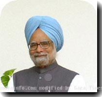 Manmohan Singh pushes