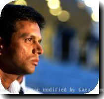 Rahul Dravid puts aside his