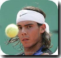 Rafael Nadal because I