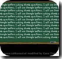Google, Froogle en Koekel