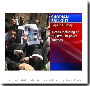 Shopian murder: Four cops