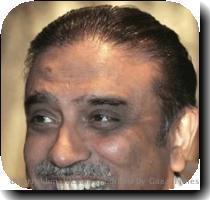 Asif Ali Zardari elected as