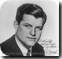 The young Edward Kennedy