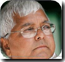 Minister Lalu Prasad Yadav