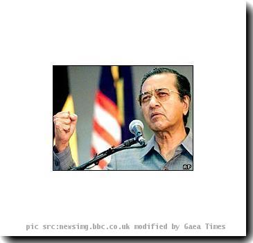 Re: Dr. Mahathir Mohamad