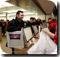 APPLE INC. HOLIDAY SHOPPING