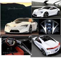 Toyota FT HS Hybrid Concept