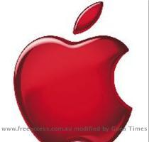 Shares of Apple Inc. inched