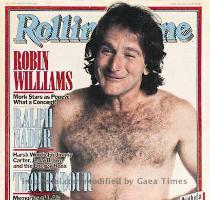 Robin Williams on Cover of