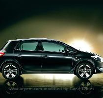 Toyota Auris, imagen lateral