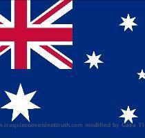 India asutralia flags