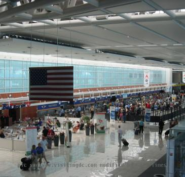 the BWI Airport Terminal