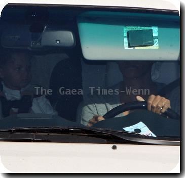 Halle Berry seen leaving Kinara Spa in West Hollywood with her daughter while wearing a white headscarf Los Angeles.