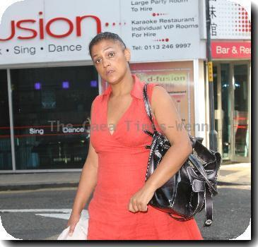 **Exclusive**Actress Cathy Tysonout and about in Leeds city centreLeeds.