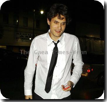 John Mayer at Katsuya Los Angeles.