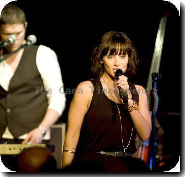 Natalie Imbruglia performing live at The LexingtonLondon.