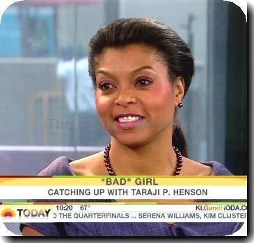 Taraji P. Hensontalks about her upcoming movie 'I Can Do Bad All By Myself' and says that it was incredible working with Tyler Perry, that he is unbelievable fast paced. She says there was a scene with co-star Adam Rodríguez when filming the movie that did not have a kiss in it, but she went in for a kiss and Adam responded, Tyler cut the scene. Taraji says that Tyler and she had made a pact after filming 'The Family That Preys' that they would work on another film of a larger scale on NBC's 'TODAY Show'USA - 08.09.09Supplied by WENN.com Credit: IANA-WENN