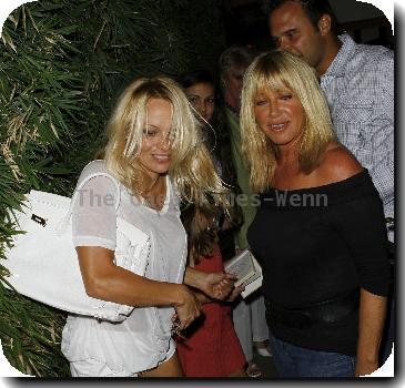 Pamela Anderson and Suzanne Somers