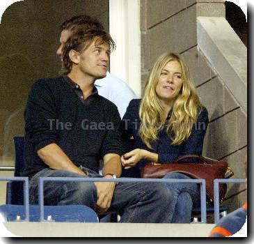 Sienna Miller and George BakerVenus Williams