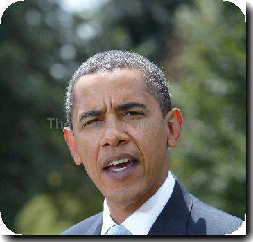 President <b>Barack Obama</b> speaks briefly on Afghanistan