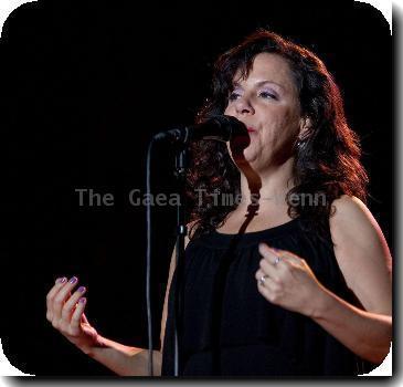 Brazilian singer Bebel Gilberto