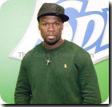 50 Cent at Chicago Radio Station WGCI Coca Cola Lounge Chicago.