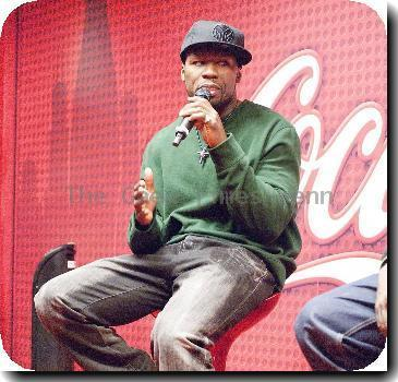 50 Cent at Chicago Radio Station WGCI Coca Cola Lounge Chicago.