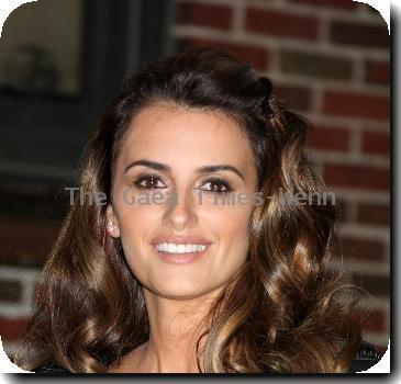 Penelope Cruz outside the Ed Sullivan Theater for the ?Late Show With David Letterman?.
