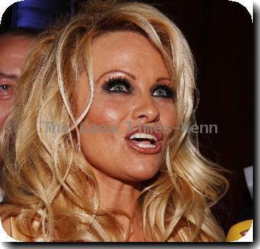 Pamela Anderson Hugh Hefner joins Benedikt Taschen to celebrate the release of the six-volume illustrated autobiography 'Hugh Hefner's Playboy' at TASCHEN.