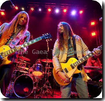 Blackberry Smoke performing live