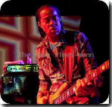 American band Living Colour performing live at Santiago Alquimista.
