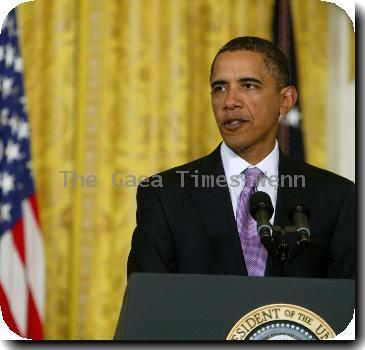 U.S. President Barack Obama makes remarks on jobs in the East Room January 8, 2010 at the White House in Washington, DC. President Obama has announced new funding to create clean technology manufacturing jobs..