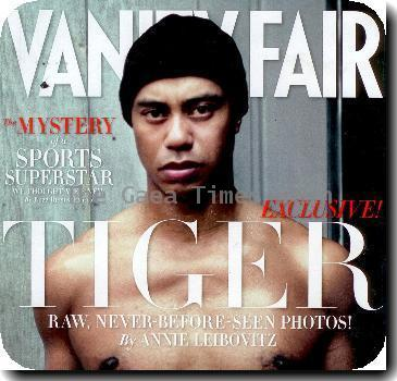 Tiger Woods appears on the February 2010 cover of Vanity Fair magazineUSA - February 2010