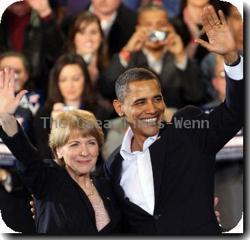 U.S. President Barack Obama joins Martha Coakley