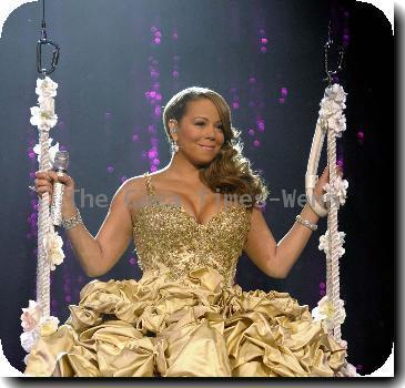 Mariah Carey performing at The Air Canada Centre