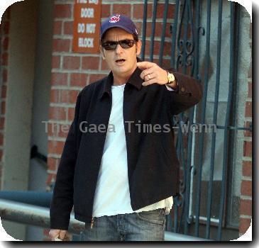 Actor Charlie Sheen