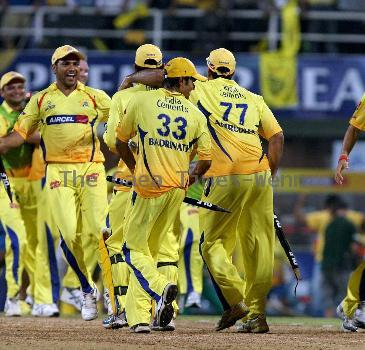 Mumbai Indians' batsman Sachin Tendulkar plays a shot at the IPL 3 finals between Mumbai Indian and Chennai Super Kings. Chennai Super Kings won the match Navi Mumbai.