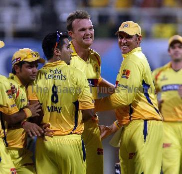 The IPL 3 finals between Mumbai Indian and Chennai Super Kings