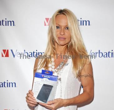 Pamela Anderson Gifting Services inc held at the Gifting services Showroom in West Hollywood. Los Angeles.
