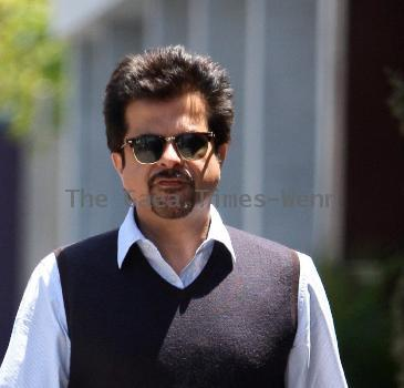 Anil Kapoor and a friend