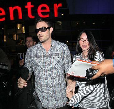 Megan Fox and Brian Austin