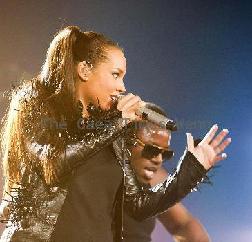 Alicia Keys performs opening night of her UK Tour at The National Indoor Arena Birmingham.