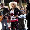 Christina Aguilera performs on the NBC's 'Today Show' Toyota Summer concert series held at the Rockerfeller Center. New York City.