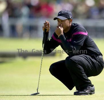 American golfer Tiger Woods