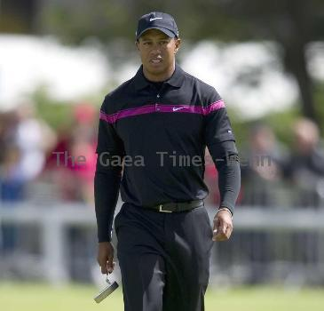 American golfer Tiger Woods