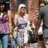 Anna Faris was spotted out shopping with friends at The Gove Los Angeles, USA.
