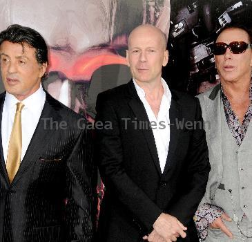 Sylvester Stallone Los Angeles Premiere of 'The Expendables' held at Grauman's Chinese Theatre - Arrivals Los Angeles.
