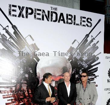 Premiere of 'The Expendables'
