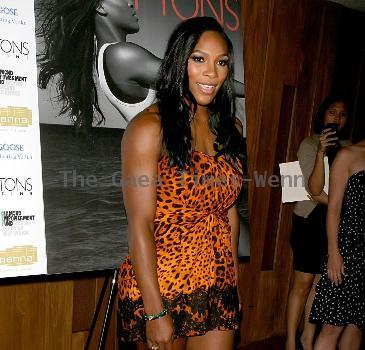 Serena Williams celebrates her cover of Hamptons magazine with a party at Pranna - ArrivalsNew York City.